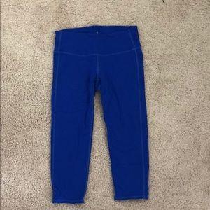 Blue Athleta leggings